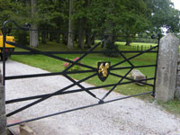Devon Wrought Iron Gates