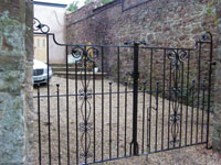 Wrought Iron Gates, Devon