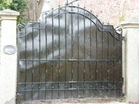 Devon and Exeter Wrought Iron Gates